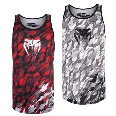 8768cd39b0bff8 Venum Herren Tank Top Tecmo MMA Muay Thai BJJ Training Fitness SALE  Abverkauf