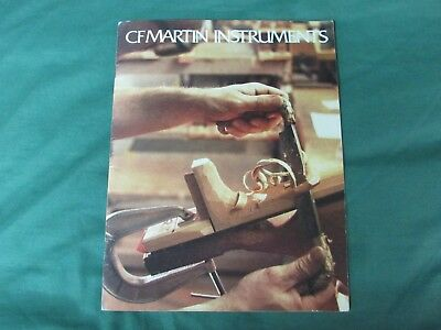 1986 CF Martin Instruments Catalog and Retail Price List