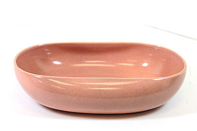 "American Modern Coral by Russel Wright 9"" Oval Vegetable Bowl [OV9]"