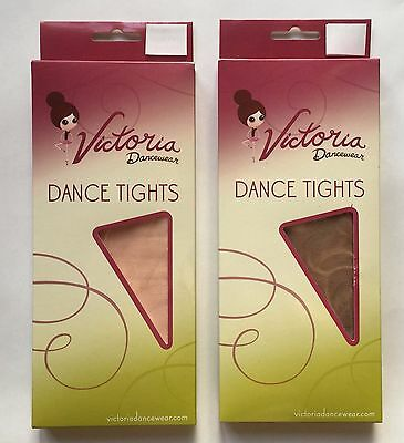 NEW - Footed Dance Tights - Ballet Pink and Tan - Child and Adult Sizes
