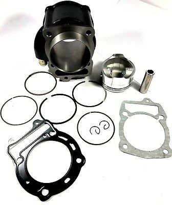 Engine Cylinder Top End Rebuild Kit & Gasket For Honda Helix Cn250 Ch250 Scooter