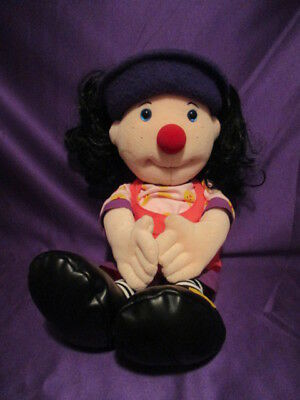 "BIG COMFY COUCH LOONETTE mollys friend PLUSH DOLL 1995 21"" PBS tv"