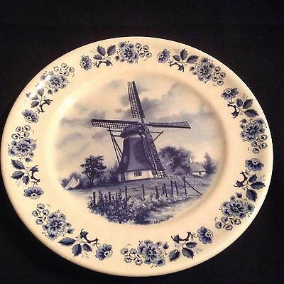 Delft Blauw Hand Decorated & Made In Holland 19.5cm Plate