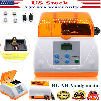 LCD Digital Dental High Speed HL-AH Amalgamator Amalgam Capsule Mixer G7 US ship