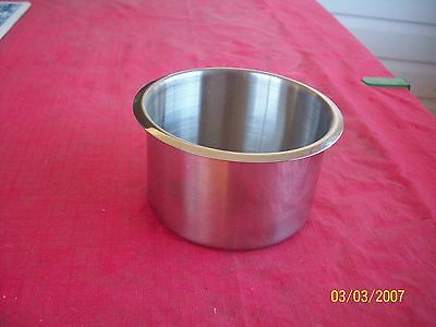 stainless steel cup hoders   SET OF TEN  FREE POSTAGE