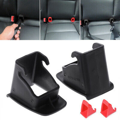 2pcs Baby Buckle Child Seat  Groove Fixed Safety Guide ISOFIX Universal Car
