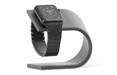 Nomad Charging Stand Aluminum Holder for Apple Watch - Space Gray