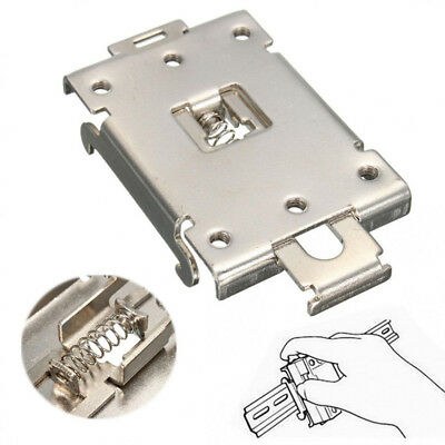 1Pcs Single-phase Solid State Relay 35mm DIN Fixed Rail Mounting Clamp Bracket