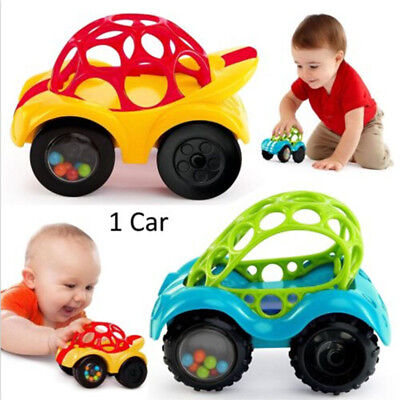 Cartoon Rattle Roll Car Infant Toddler Toy Gifts Toys for Baby Boy Girl Gift