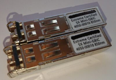 1 mal Extreme Networks 10051 SX Mini-GBIC 4050-00010 Modul, used