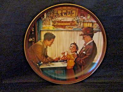 A Time To Keep Collector Plate Norman Rockwell The Ones We Love