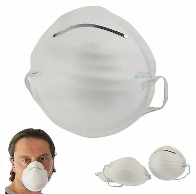 20 x DUST masks disposable moulded shell type elasticated face masks