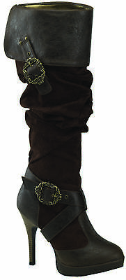 Carribean 216 Brown Adult Boots, 10