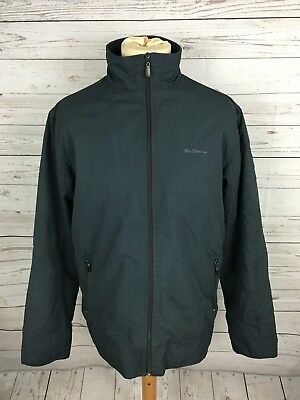 Mens Ben Sherman Quilted Jacket - Size Medium - Grey - Great Condition