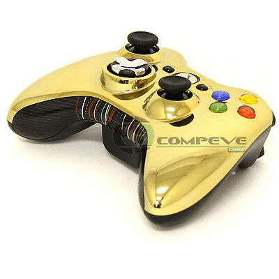 Microsoft XBOX360 Special Edition Wireless Gaming Controller Gold Star Wars