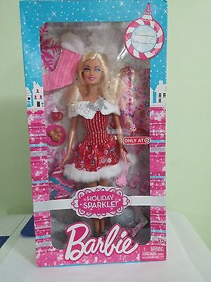 BARBIE Holiday Sparkle Christmas  Target Exclusive 2011  New