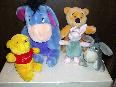 Lot Winnie the Pooh and Friends Plush Soft Toys