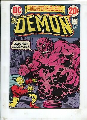 The Demon #10 Etrigan, The Demon Chapter 1! (7.5) 1973