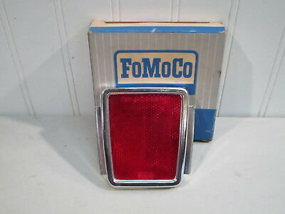 Nos 1968 Ford Ranchero Rear Bedside Reflector (Pennsylvania Only)...new In Box