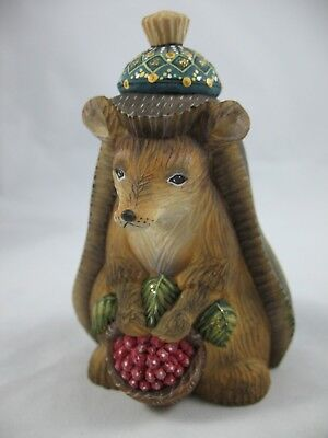 "G. DeBrekht Forest Family Friends HEDGEHOG DerEvo Collection New! 4.5"" 58903-GDB"