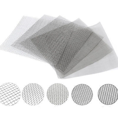 Mesh Stainless Steel Filtration Wire Cloth Screen Filter #4 to #400