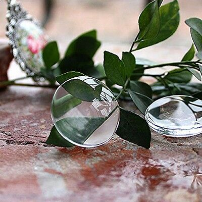 1 Inch Round Bottle Cap Stickers Crystal Clear Epoxy Adhesive Circles 3D 100pcs