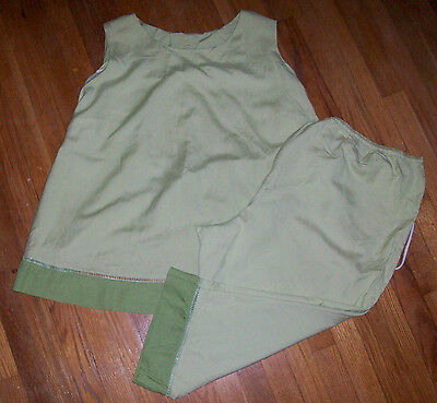 Women's MOTHERHOOD MATERNITY Outfit - Sleeveless Blouse and Capri Pants - 3X