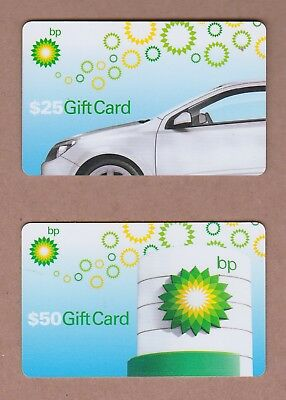 2 Diff. Used BP Gas Gift Cards - No Balance remaining