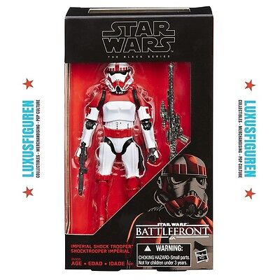 Hasbro Star Wars Battlefront Imperial Shock Trooper Black Series Exclusive
