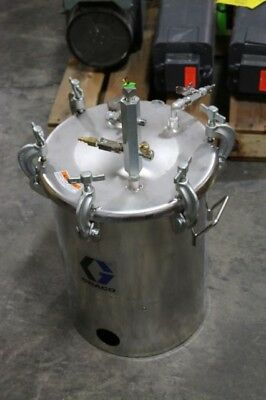 Graco 5-Gallon Stainless Steel Paint Pressure Tank 110 PSI HVLP 236143