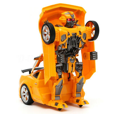 Transformers Robot Remote Control Robot Transform Car Vehicle Toy Children Gifts