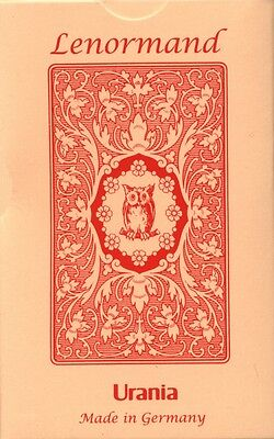 Mlle Lenormand Red Owl (with text), English Edition, brand new!