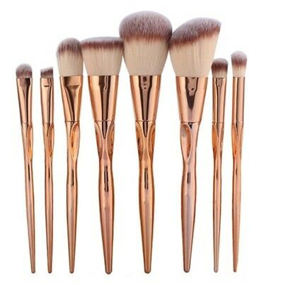 8pcs Pretty Makeup Brushes Set Cosmetic Face Foundation Power Eyeshadow Blush