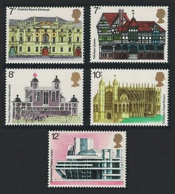 Great Britain European Architectural Heritage Year 5v SG#975-979