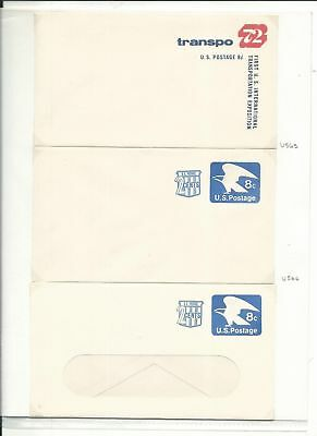 United States Collection of Postal Stationary, Lot of 28 Covers (A)