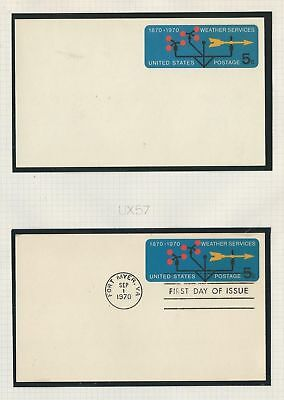 United States Collection of Postal Cards, Lot of 21 UX57//UX68