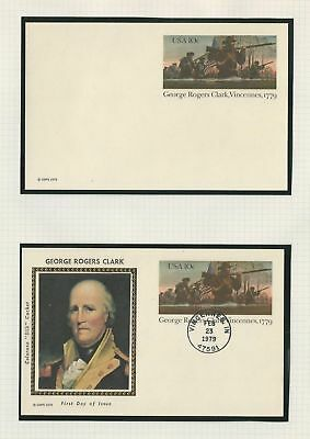 United States Collection of Postal Cards, Lot of 16, UX76-UX84