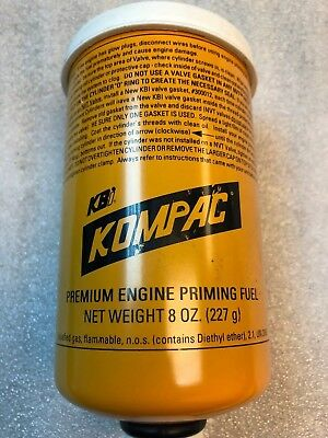 Kbi Kompac Premium Engine Priming Fuel 8 Oz. P/n 20051
