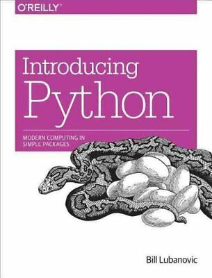 Introducing Python Modern Computing in Simple Packages 9781449359362