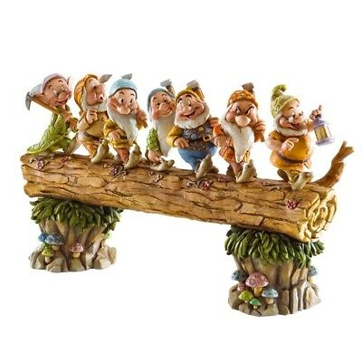 Disney Traditions by Jim Shore Snow White and the Seven Dwarfs Heigh-ho Stone...