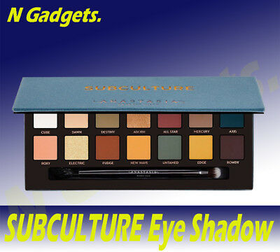 NEW Anastasia Beverly Hills Subculture Eyeshadow Palette 14 Colours UK STOCK