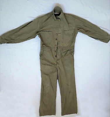 Vintage Mechanic Coveralls Hot Rod Rockabilly Rosie the Riveter Men'ssize 38