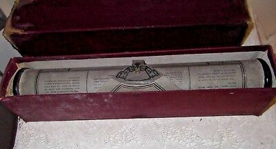 A Vintage Piano Roll Full Scale No 82672 (Untested)