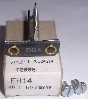 Eaton Cutler Hammer FH22  Westinghouse Thermal Overload Heater Elements Type FH