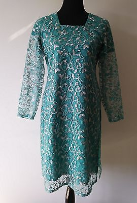 Pakistani ,indian kurti net Embroidery shirt.