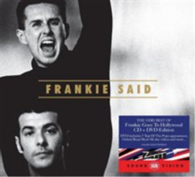 Frankie Goes to Hollywood-Frankie Said  CD with DVD NEW