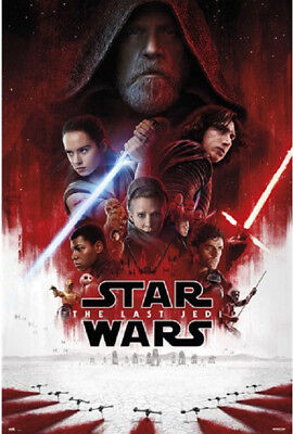 THE LAST JEDI - STAR WARS - ONE SHEET MOVIE POSTER 24x36 - 160647