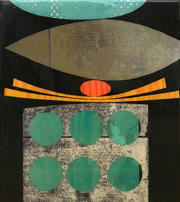 Rex Ray, Mixed Media and Resin Painting Lot 56