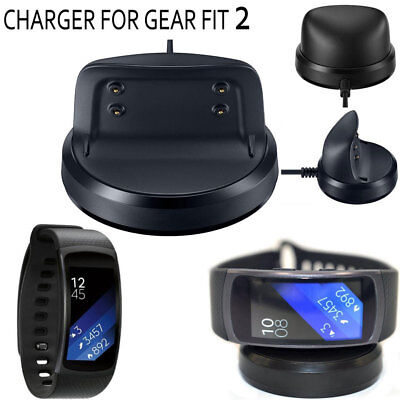Magnetic USB Charger Dock Charging Cradle Station For Samsung Gear Fit 2 SM-R360