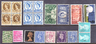United kingdom Postage stamps Mix Lot as Scan 18203